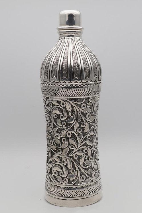 Indian silver bottle