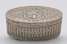 Louis XV silver gilt snuff box,  Paris 1772