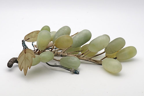 Bunch of antique jade grapes