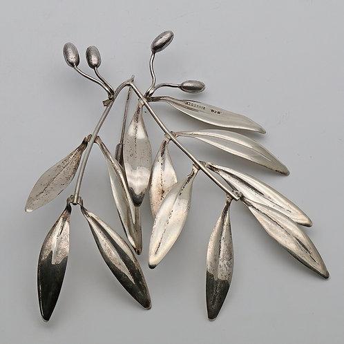 Kessaris silver brooch from Greece