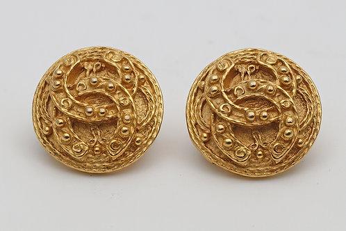 Classic Chanel earrings