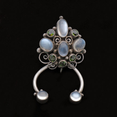 Dorrie Nossiter Arts and Crafts Silver Pin