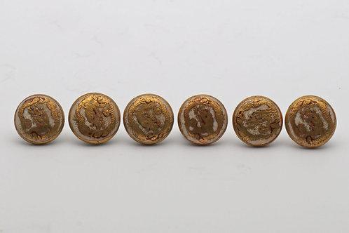 Japanese Satsuma buttons