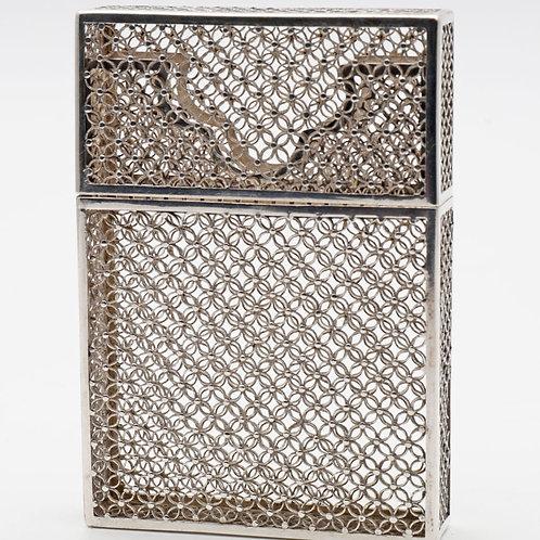 19th Century Silver Card Case