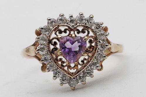 Vintage 9ct gold ring