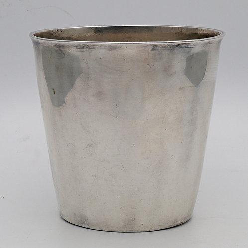 Queen Anne silver beaker