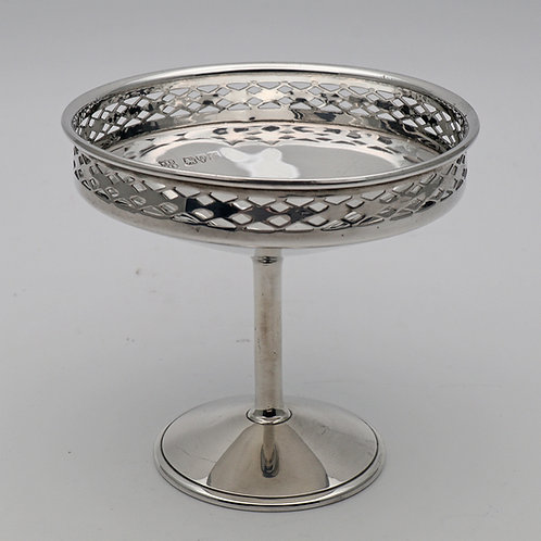 Miniature silver tazza Chester