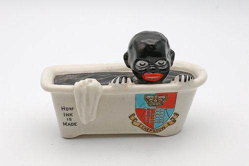 Black Americana Shelley crested ware souvenir