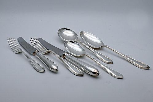 Silver canteen Edwin Viner Sheffield 1949