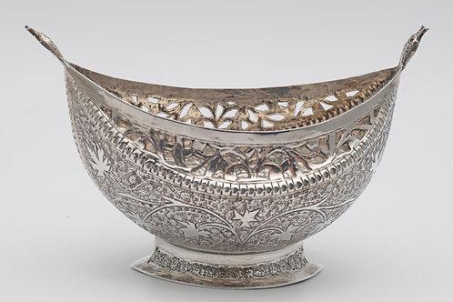 Antique Kashkul silver bowl