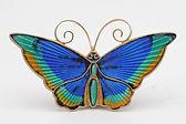 David Andersen silver and enamel butterfly brooch  £145