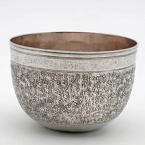 German silver circular goblet c.1690