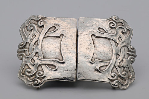 Art Nouveau Liberty Silver Belt buckle