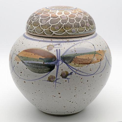 Large Studio Pottery ginger jar