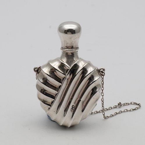 Victorian silver scent bottle