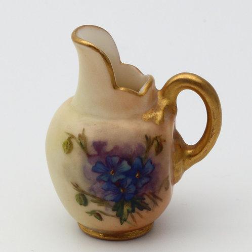 Royal Worcester Victorian miniature jug