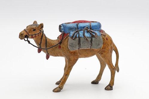 Bronze camel pin cushion