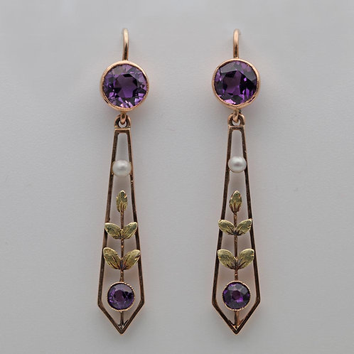 Edwardian Ear Rings