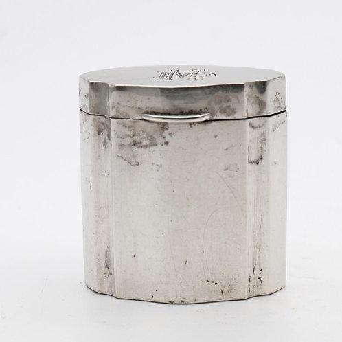 Italian silver box