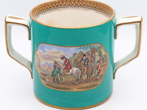 Victorian Pratt loving cup c. 1850