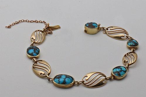 Murrle Bennett turquoise bracelet