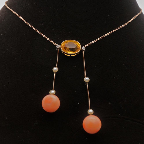 Edwardian 'negligee necklace