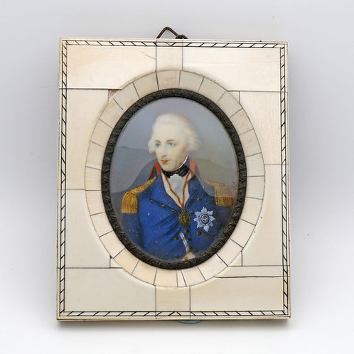 Portrait Miniature Lord Nelson