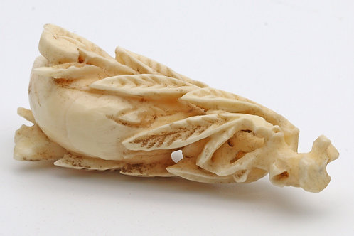 Antique carved bone or ivory fruit