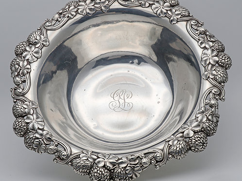 Early 20th century American silver bowl Tiffany & Co