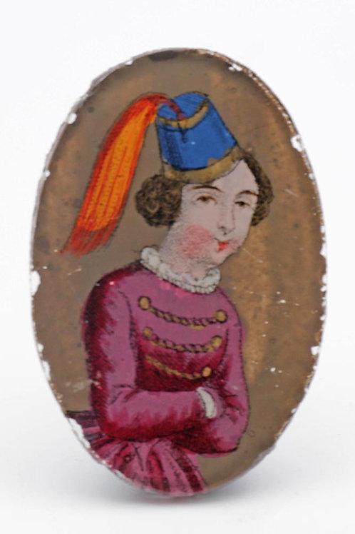 Rare Georgian miniature