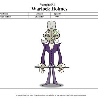 Vampire PI - Warlock Holmes