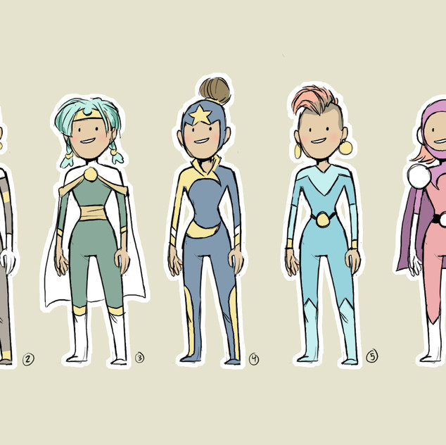 Girl in the Moon - Designs
