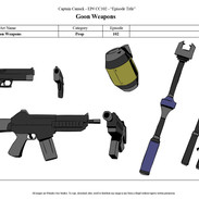 Goon Weapons