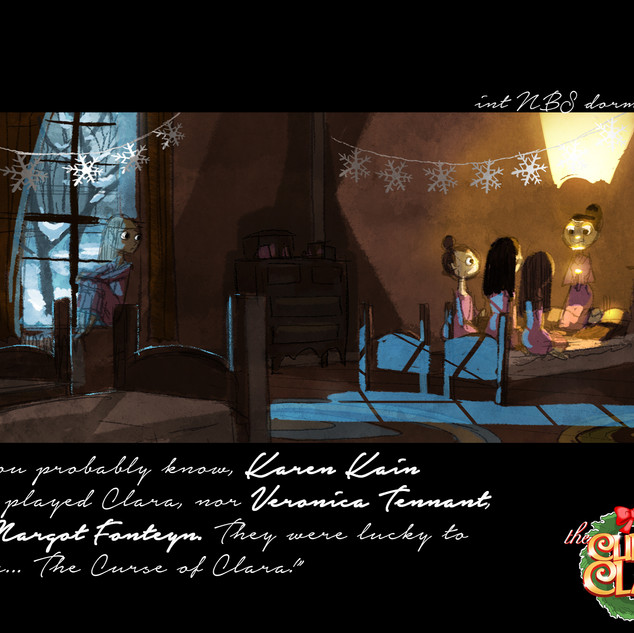 Curse of Clara Pitch Package page 8