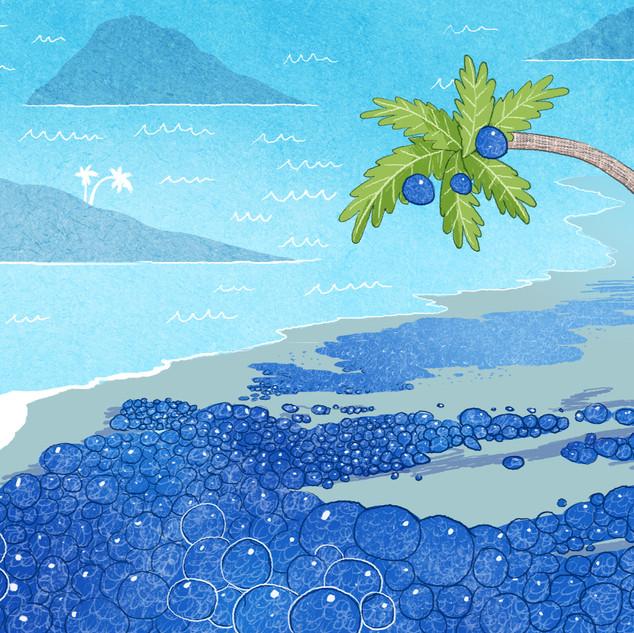 Blueberry Beach Concept Art