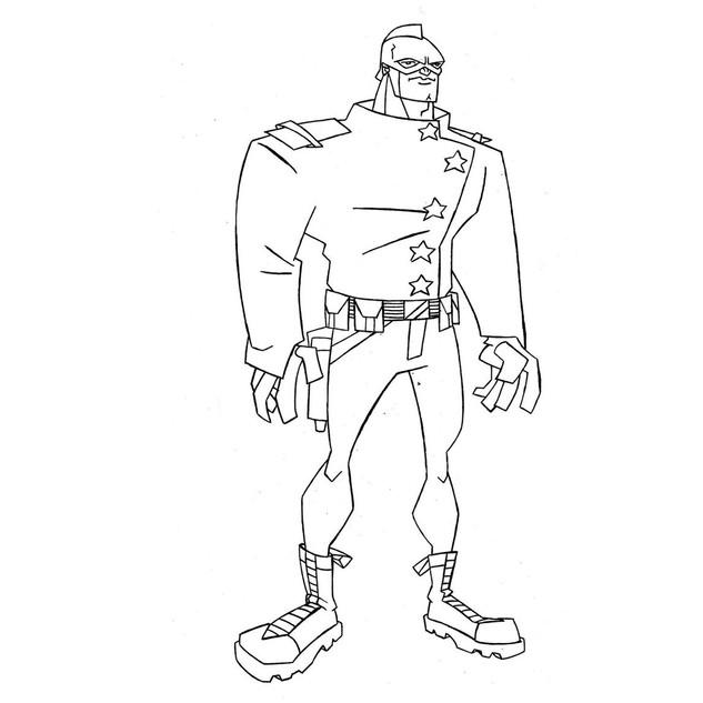 Character Design - Mighty Crusader