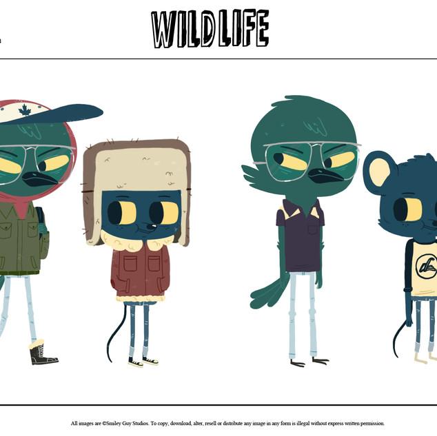 WildLife Model Sheet