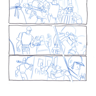 Guttergirl Page 2 Rough