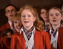 Children sing in Loretto choir