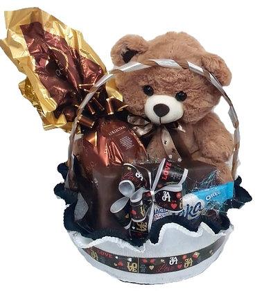 Ursinho Páscoa com Ovo Ferrero Rocher