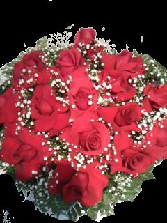 Buquê com 15 rosas colombianas
