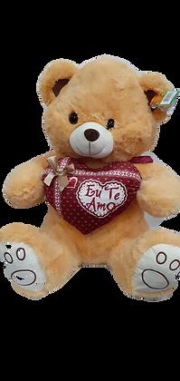 Urso de pelúcia BEGE 55 x 40 x 30cm FE7205