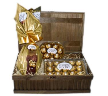 Cesta de Pascoa Ferrero Rocher