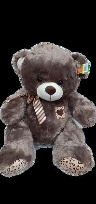 Urso de pelúcia MARROM ESCURO 70 x 55 x 30cm FC2554