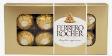 Ferrero Rocher 100g c/ 8 bombons emb. papelão metálico