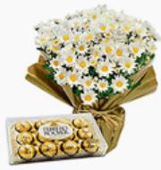Mini margarida + Ferrero Rocher