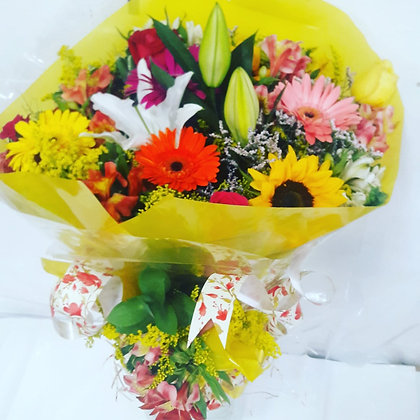 Buquê Alegria - Flores do Campo