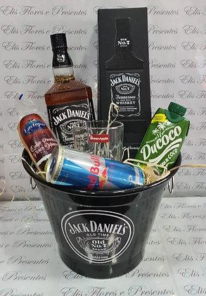 Baldinho Jack Daniels com provolone