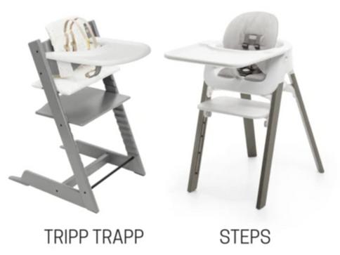 SILLA STOKKE: TRIPP TRAPP VS STEPS