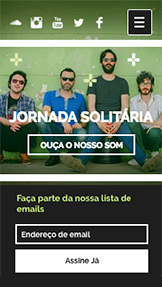 Música website templates – A Banda